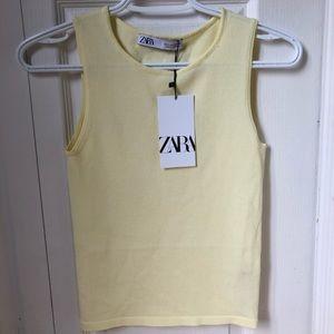 Zara Yellow tank top